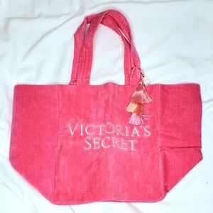 Victoria's Secret | NWT Big Terry Cloth Beach Tote